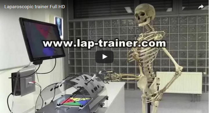 Laparoscopic trainer Abc-lap Youtube Video How to Use